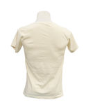 Male tshirt template on the mannequin (back side). On white background (with clipping path Stock Image