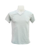 Male tshirt template on the mannequin on white. Background (with clipping path Stock Image