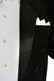 Male tuxedo. Close up of male tuxedo Royalty Free Stock Images
