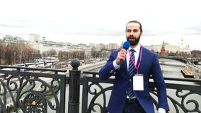 Male Tv Reporter