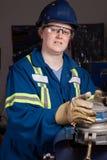 male typ kvinna för jobb arkivbilder