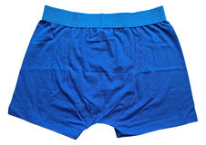 Male underwear - Blue Royalty Free Stock Photography