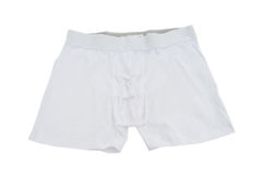 Male underwear isolated. On the white Royalty Free Stock Photo