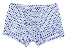 Male underwear isolated on white. Background. Clipping paths included Stock Photos