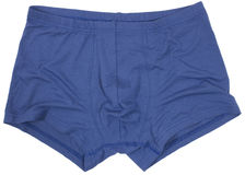 Male underwear isolated on the white Royalty Free Stock Photo