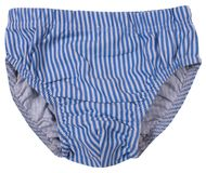 Male underwear isolated on white background. Royalty Free Stock Photos