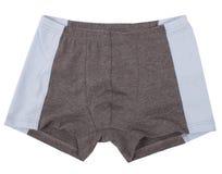 Male underwear isolated on white background. Stock Image