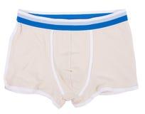 Male underwear isolated on white background. Male underwear isolated on a white background Stock Image