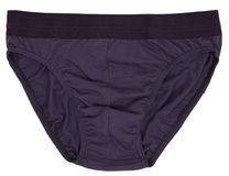 Male underwear isolated on white background. Royalty Free Stock Photography