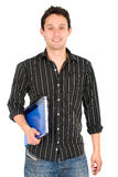 Male university student Stock Photo
