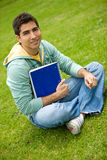 Male university student Stock Images