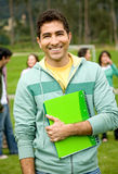 Male university student Stock Photos