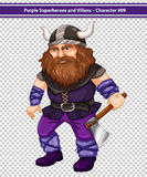 Male viking Royalty Free Stock Images