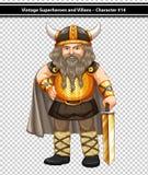 Male viking Royalty Free Stock Photo