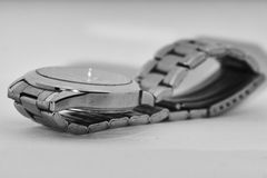 Male watch. On a white background Royalty Free Stock Images
