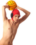 Water Polo Player Royalty Free Stock Photos
