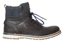 Male Winter Boot Royalty Free Stock Photography