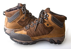 Male winter boots Stock Photography
