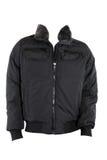 Male winter jacket. Isolated on white Royalty Free Stock Photo