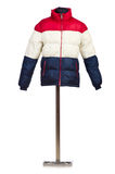 Male winter jacket Stock Images