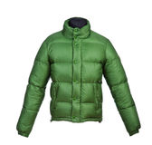 Male winter jacket Royalty Free Stock Photography