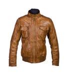 Male winter jacket Stock Image