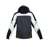 Male winter jacket isolated Royalty Free Stock Images