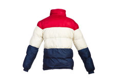 Male winter jacket isolated Royalty Free Stock Photos