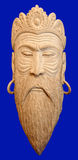 Male wooden mask royalty free stock images