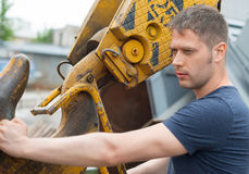 Male worker. Royalty Free Stock Photo