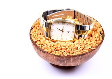 Male wrist watch Stock Images