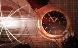 Male wristwatch running Royalty Free Stock Photos