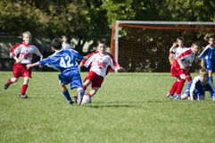 Male Youth Soccer Action Stock Photos
