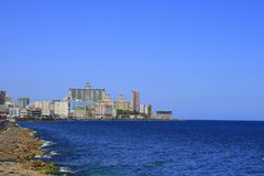 The Malecon Royalty Free Stock Photo