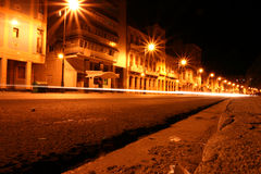 Malecon. At night - Havana - cuba Royalty Free Stock Photography