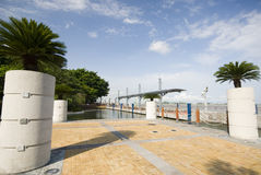 Malecon 2000 guayaquil ecuador. Seaside malecon 2000 park and pedestrian walkway guayaquil eduador south america Stock Photography