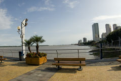 Malecon 2000 park boulevard guayaquil ecuador Royalty Free Stock Photos