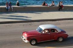 Malecon-Boulevardküstenlinie Lizenzfreies Stockfoto