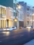 Malecon byggnader 2 Arkivbild