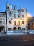 Malecon byggnader 3 Arkivbild