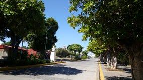 Malecon de Granada. Street at the Malecon de Granada in Nicaragua Stock Photo