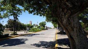 Malecon de Granada. Street at the Malecon de Granada in Nicaragua Stock Images