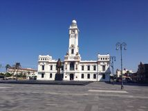 Malecon de la plaza Fotos de archivo