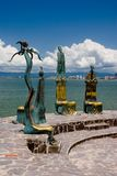 Malecon de Puerto Vallarta Photos stock