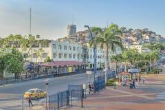 Malecon 2000, Guayaquil, Equador Imagens de Stock