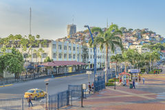 Malecon 2000, Guayaquil, Equateur Images stock
