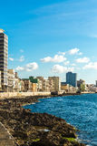The Malecon in Havana, Cuba.  Stock Photography