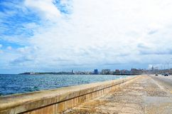 Malecon in Havana, Cuba. Malecon in Havana, in Cuba Royalty Free Stock Photos