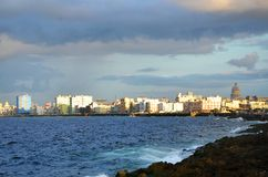 Malecon in Havana, Cuba Stock Photo