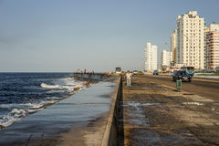 The malecon in Havana, Cuba Stock Images